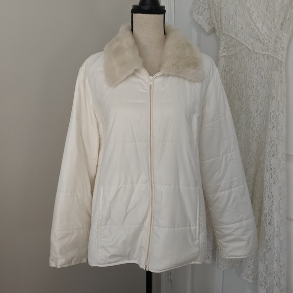 Chico's Jackets & Blazers - Thin off white coat by Chico's